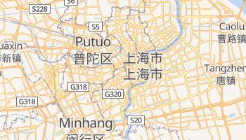 上海 の地図