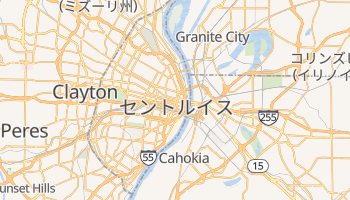 セントルイス の地図