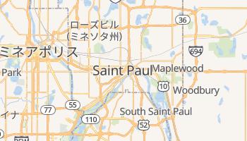 セントポール の地図