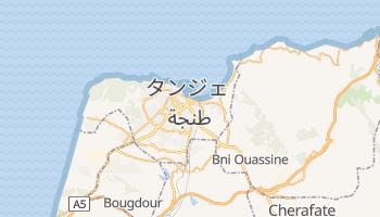 タンジェ の地図