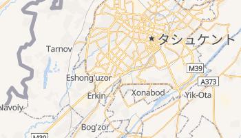 タシュケント の地図
