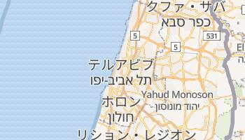 テルアビブ の地図