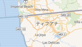 ティフアナ の地図