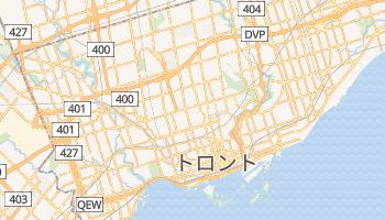 トロント の地図
