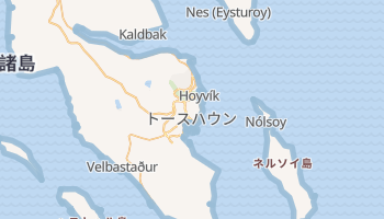 トースハウン の地図