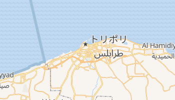 トリポリ の地図