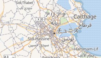 チュニス の地図