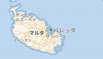 バレッタ の地図