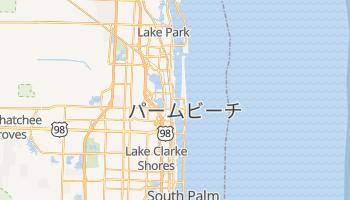 ウェストパームビーチ の地図