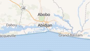 Abidjan online kaart