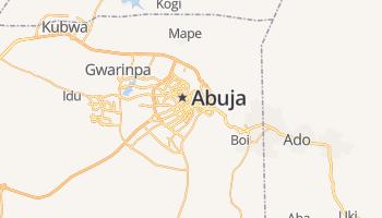 Abuja online kaart