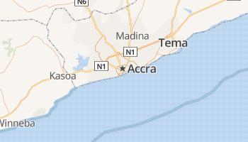 Accra online kaart