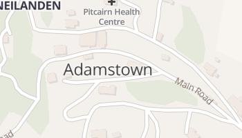 Adamstown online kaart