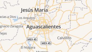 Aguascalientes online kaart