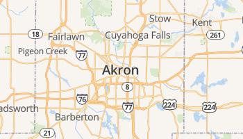 Akron online kaart