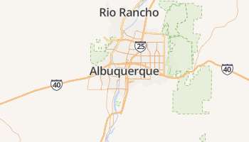 Albuquerque online kaart