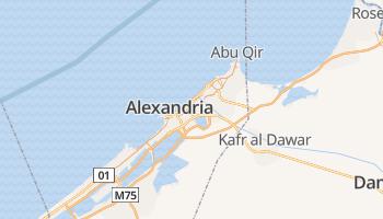 Alexandrië online kaart