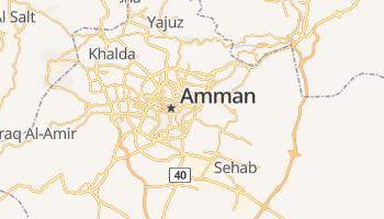 Amman online kaart