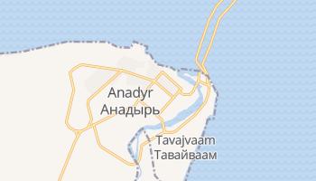 Anadyr online kaart