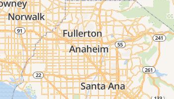 Anaheim online kaart