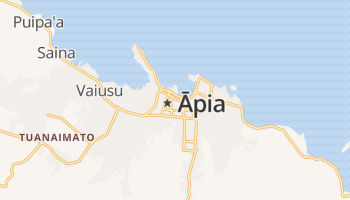 Apia online kaart