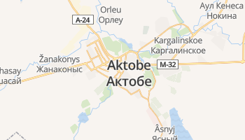Aqtobe online kaart