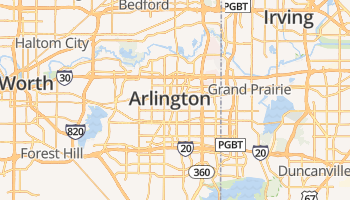 Arlington online kaart