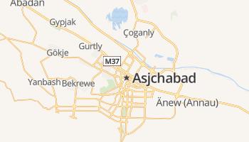 Asjchabad online kaart