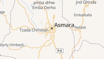 Asmara online kaart