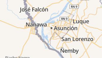 Asunción online kaart