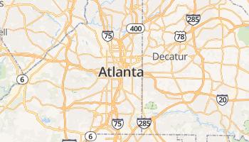 Atlanta online kaart