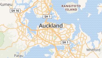Auckland online kaart