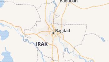 Bagdad online kaart