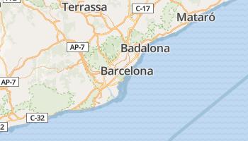 Barcelona online kaart