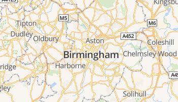 Birmingham online kaart