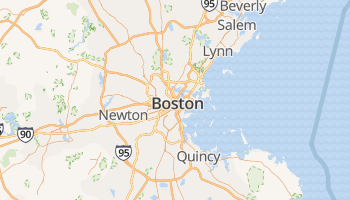 Boston online kaart