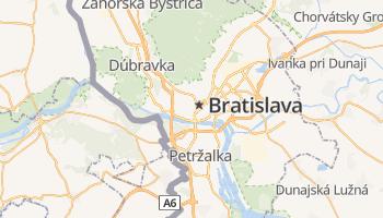 Bratislava online kaart