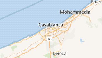 Casablanca online kaart