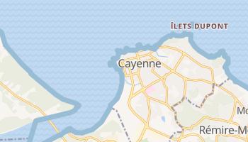 Cayenne online kaart