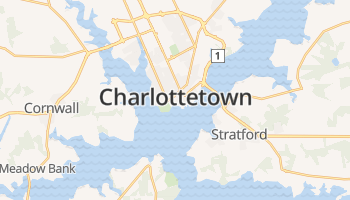 Charlottetown online kaart
