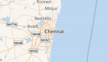 Chennai online kaart