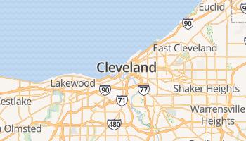 Cleveland online kaart