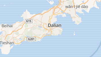 Dalian online kaart