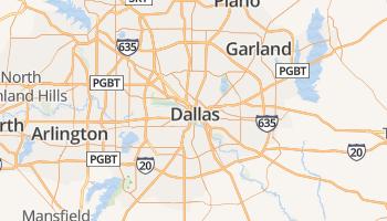 Dallas online kaart
