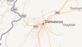 Damascus online kaart