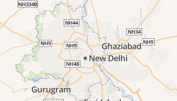 Delhi online kaart