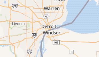 Detroit online kaart