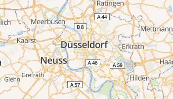 Düsseldorf online kaart