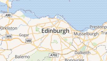 Edinburgh online kaart