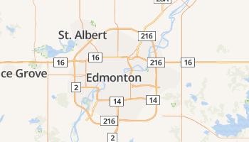 Edmonton online kaart